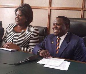 Kalaba and Jean Kapata