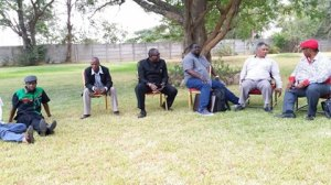 PF Presidential candidates at Mulungushi
