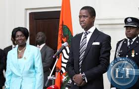 Edgar Lungu as servant
