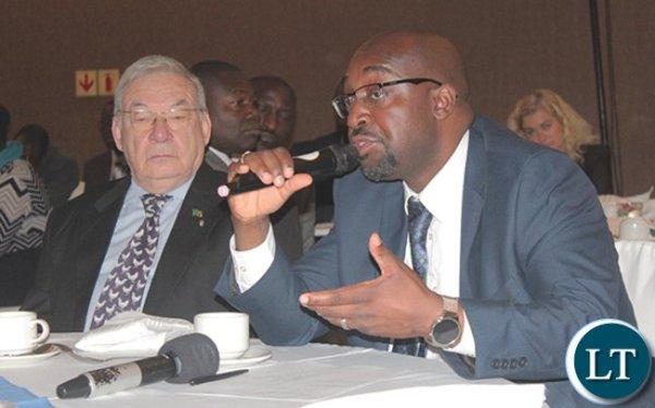 Brian Mushimba Minister of Transport